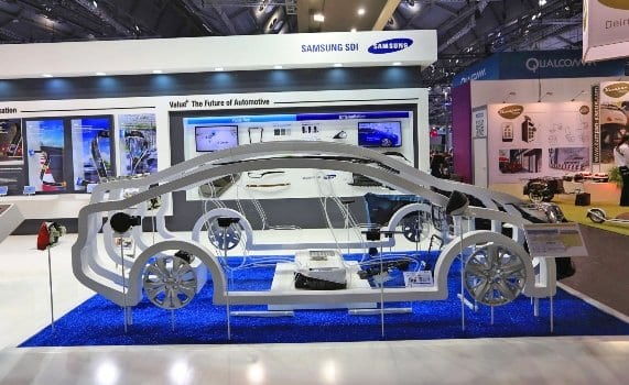 Samsung батерија за електрични возила со капацитет за 500 км и 20 минутно полнење