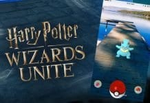 Harry Potter Wizards Unite, AR, VR, Pokemon GO