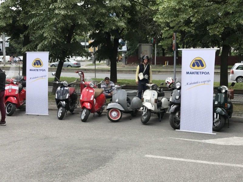"Макпетрол АД Скопје дел од  ""1st Skopje Vespa Days"""